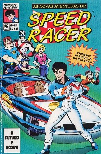 AS NOVAS AVENTURAS DE SPEED RACER nº001 - EDITORA ESCALA